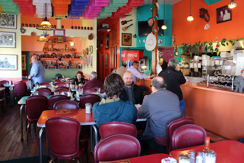 SanJalisco's festive interior. Photo: Wendy Goodfriend