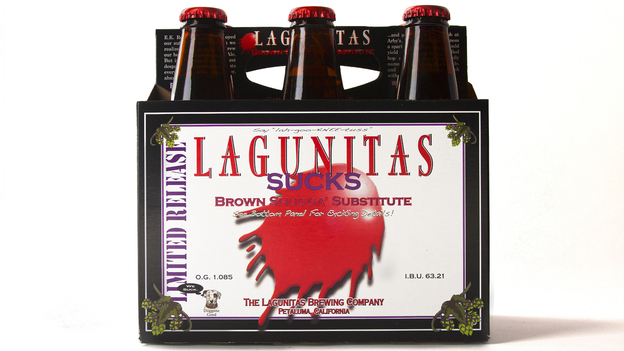 Lagunitas Brewing Company's owners are nervous that the Russian River water they currently use to make beer could run out in the drought that's hammering California. Photo: Courtesy of Lagunitas Brewing Company