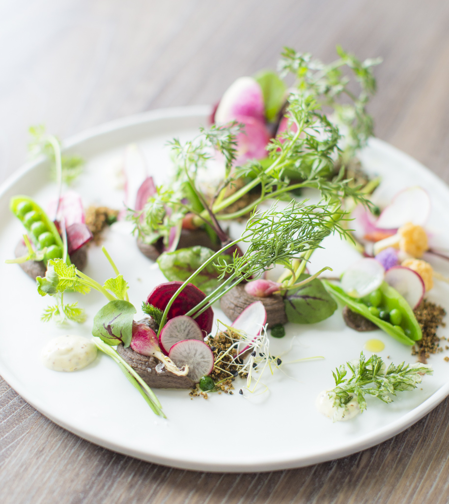 Vegetable Garden dish. Photo: Eric Wolfinger Photography.