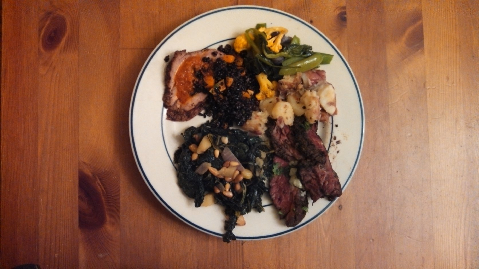 What dinner from Munchery looks like. Photo: Kelly O'Mara