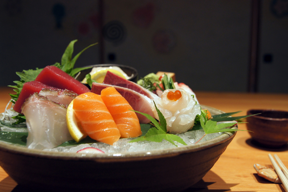 Sashimi. Photo credit: Mina Group