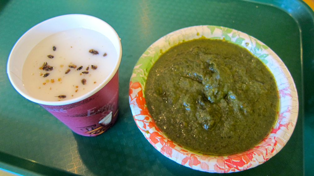 Chaas and Saag