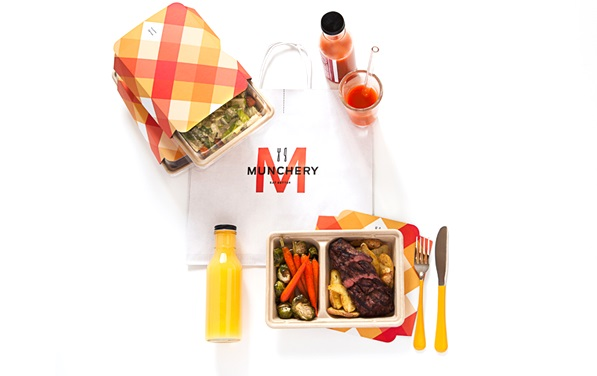 Munchery is looking to expand its home-delivered meals. Photo: Munchery