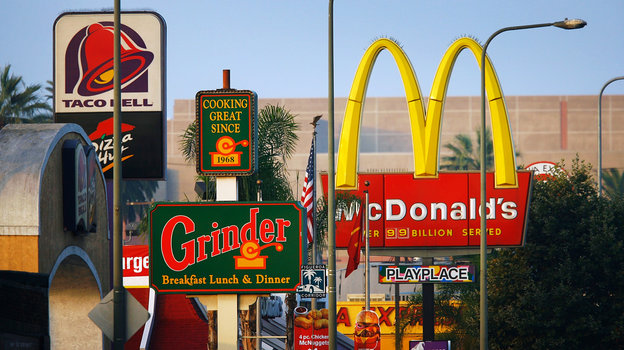 See more eat more the geography of fast food bay area for Fast food places open on easter sunday