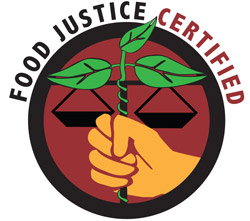 The Food Justice certification.