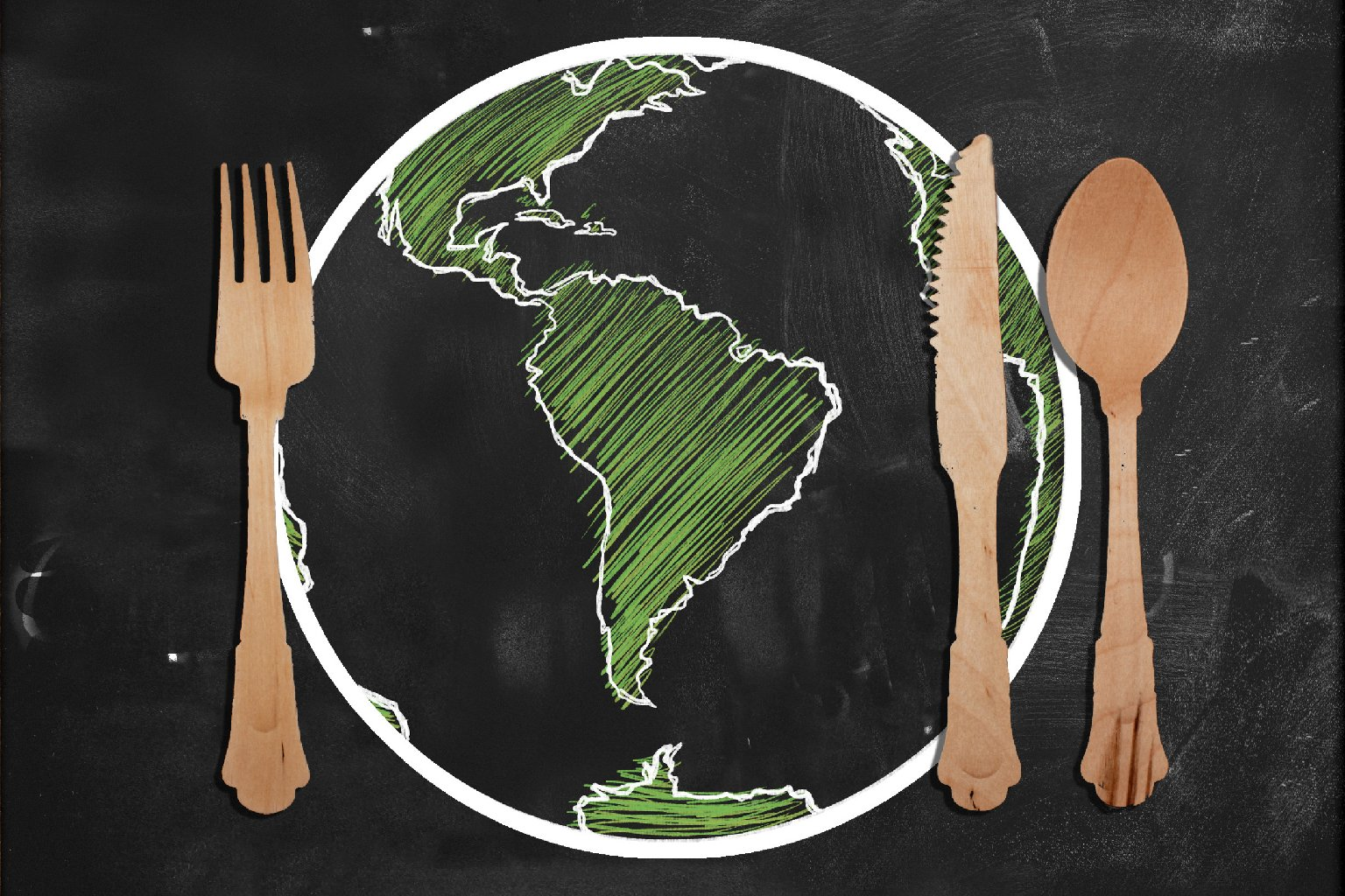 Here's one way to get students talking about global affairs: teach it through food. Photo: iStockphoto