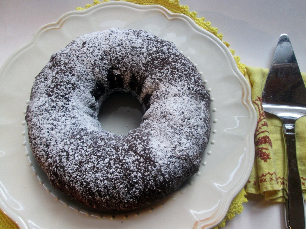 Chocolate Kahlua Bundt Cake. Photo: Laura B. Weiss/NPR