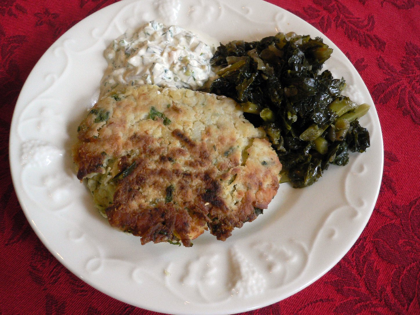 New England Salt Cod Cakes. Photo: Tom Gilbert/NPR
