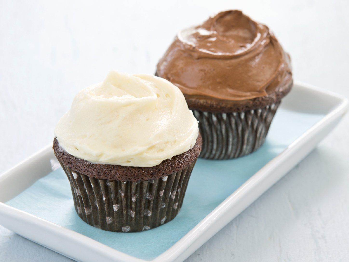 Dark Chocolate Cupcakes. Courtesy of America's Test Kitchen