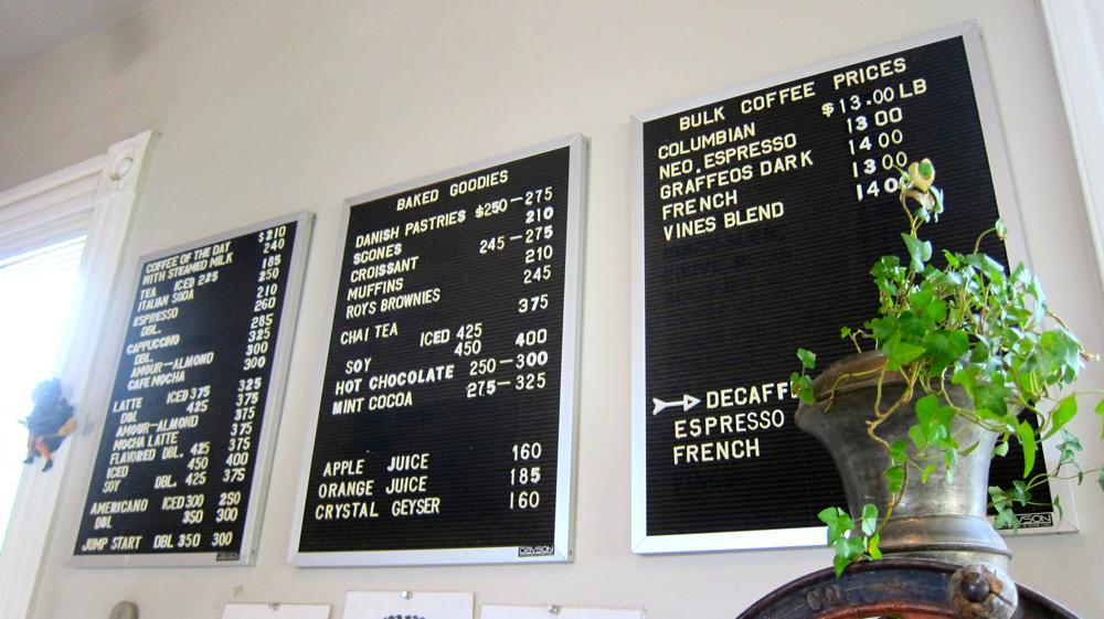 Vines Cafe
