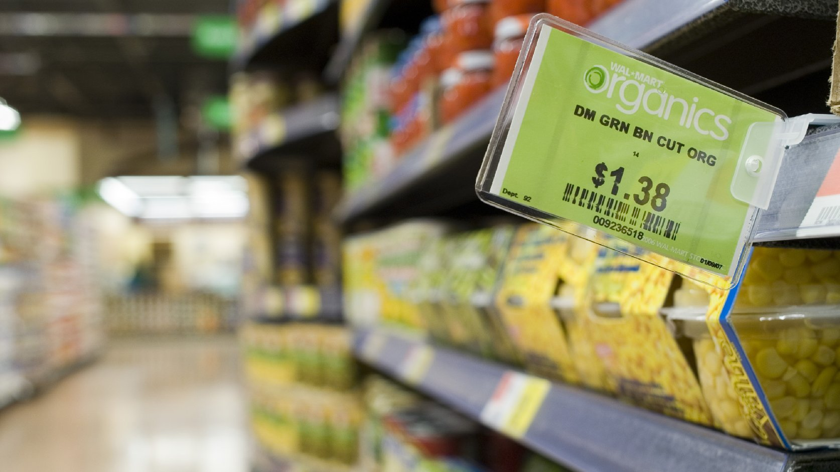 Wal-Mart is promising to drive down the prices of organic food by bringing in a new company, WildOats, to deliver a whole range of additional products. Photo: Wal-Mart / Flickr