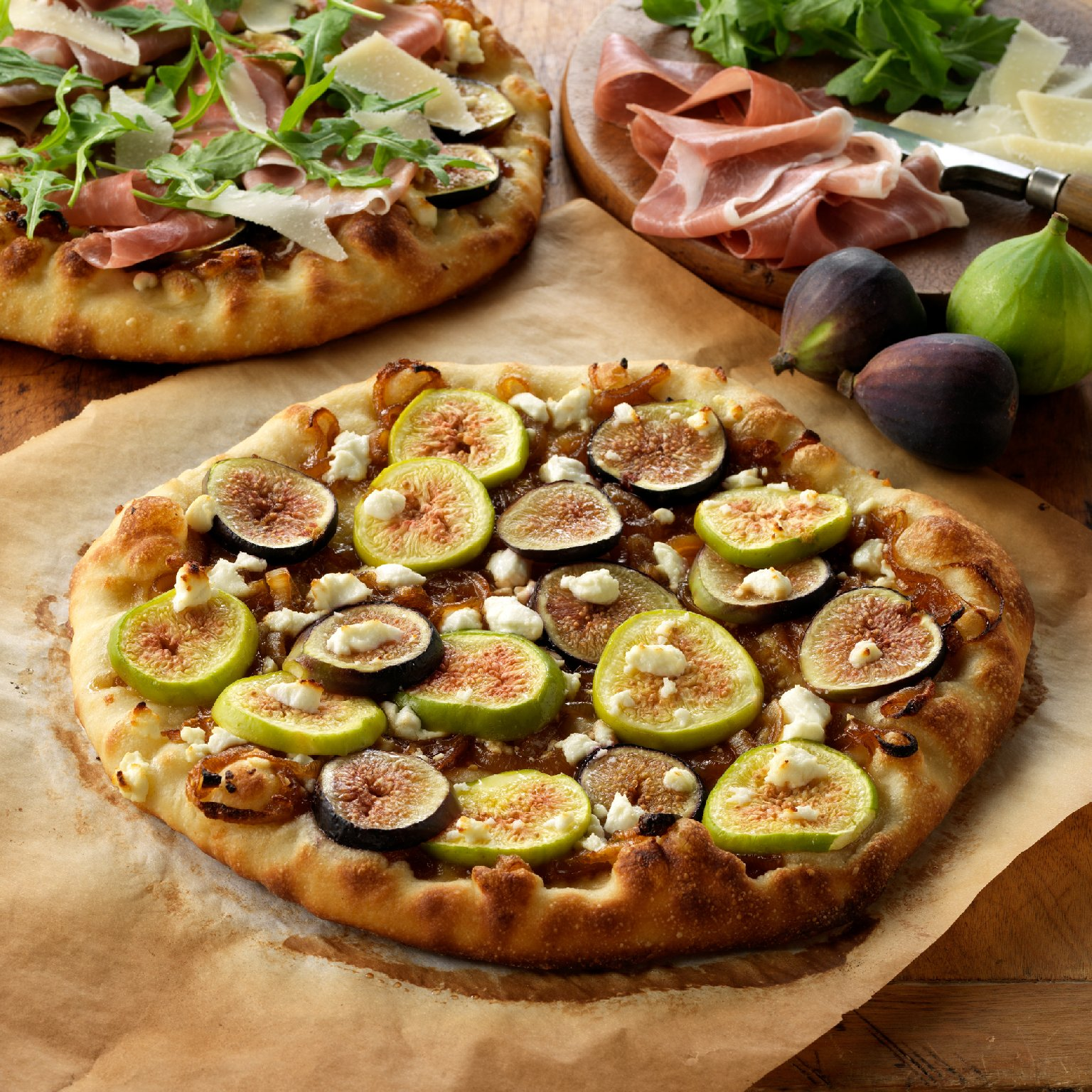 Mouth watering yet? As of now, you can only get a pizza like this in the summer and fall. Farmers in California are trying to change that by growing figs at least from April through February. Photo: Courtesy of California Fresh Fig Growers Association