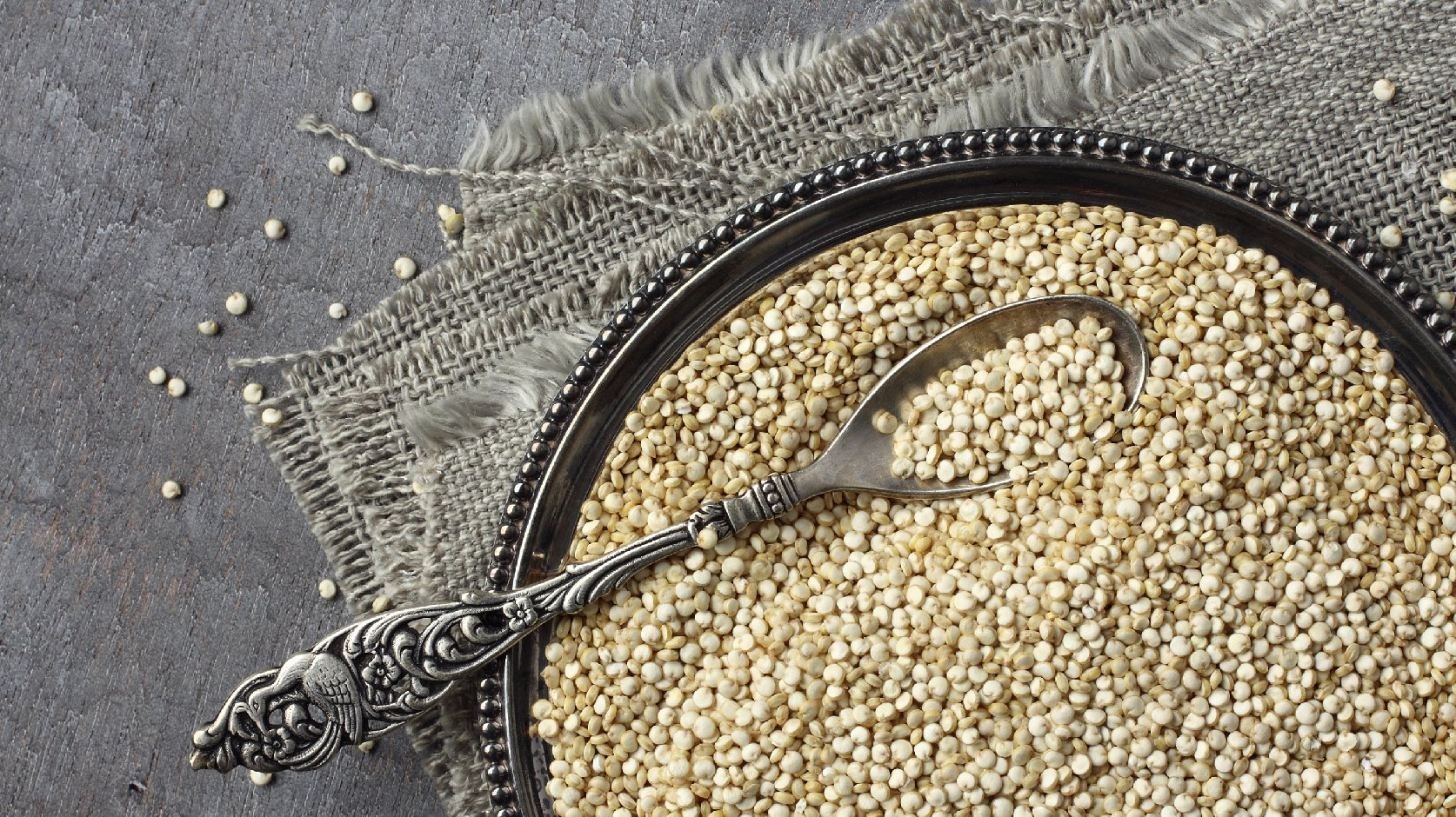 Factories that got the all-clear now produce quinoa that will bear the OU-P symbol, meaning they're kosher for Passover. Photo: Iryna Melnyk/iStockphoto