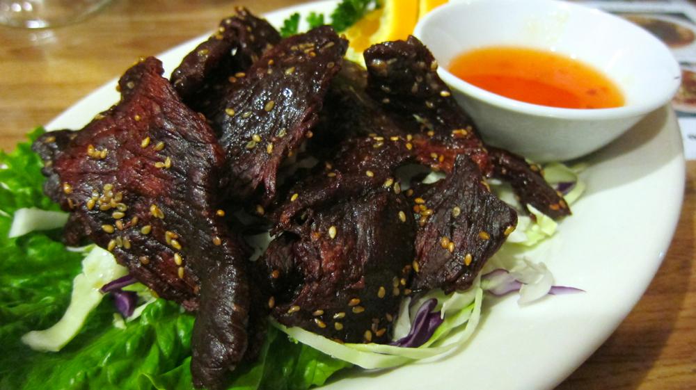 Sien savahn (beef jerky)