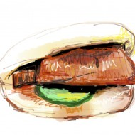 Momofuku's steamed pork belly bun