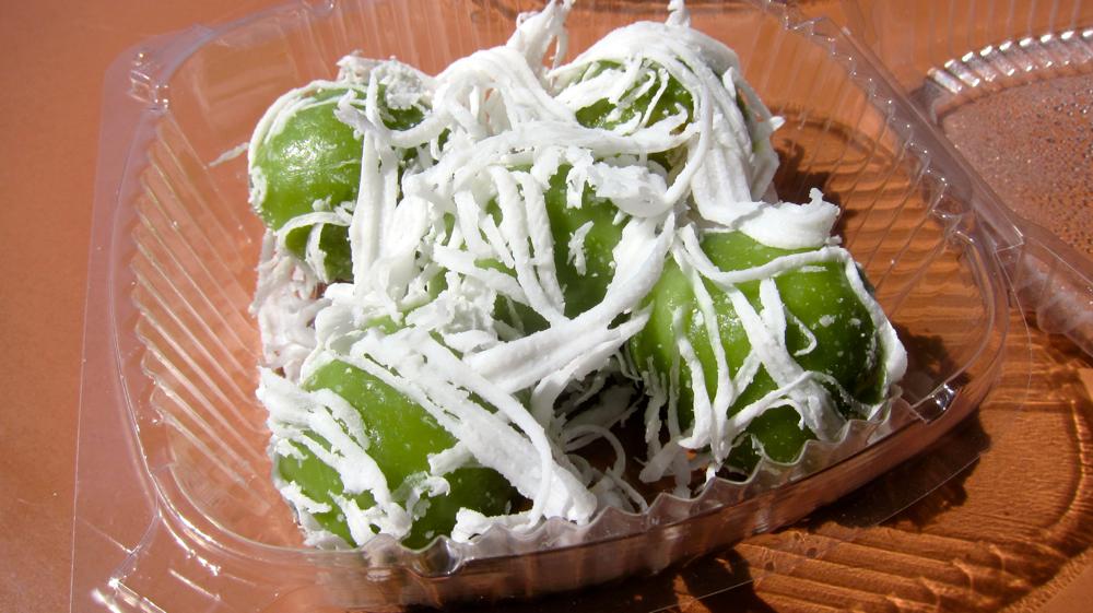Coconut-date dessert