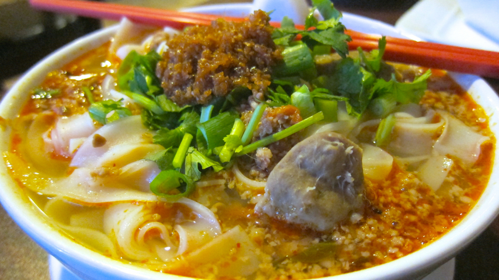 Kao soy (spicy pork noodle soup)