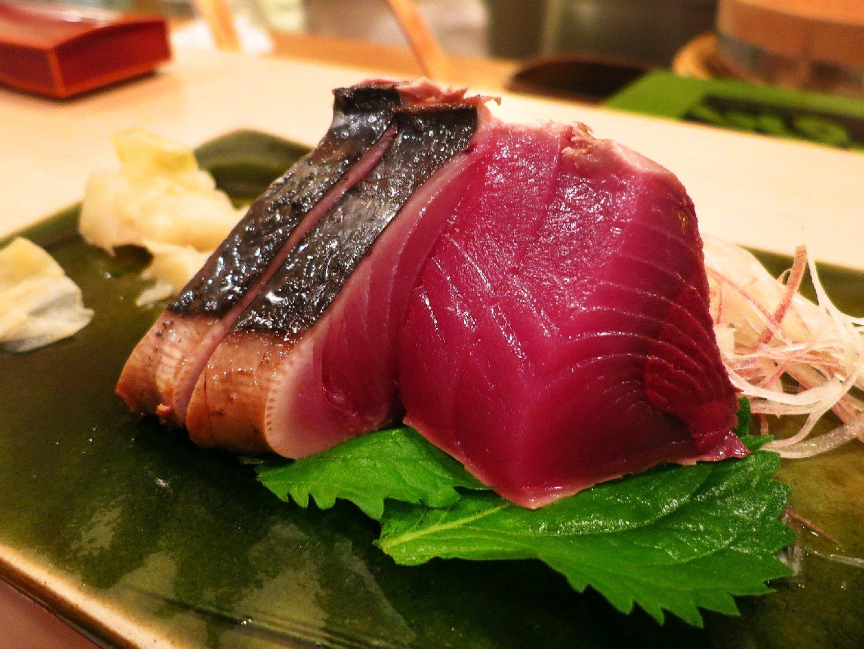 Sashimi from Sukiyabashi Jiro restaurant in Tokyo. Photo: Leon Brocard/Flickr