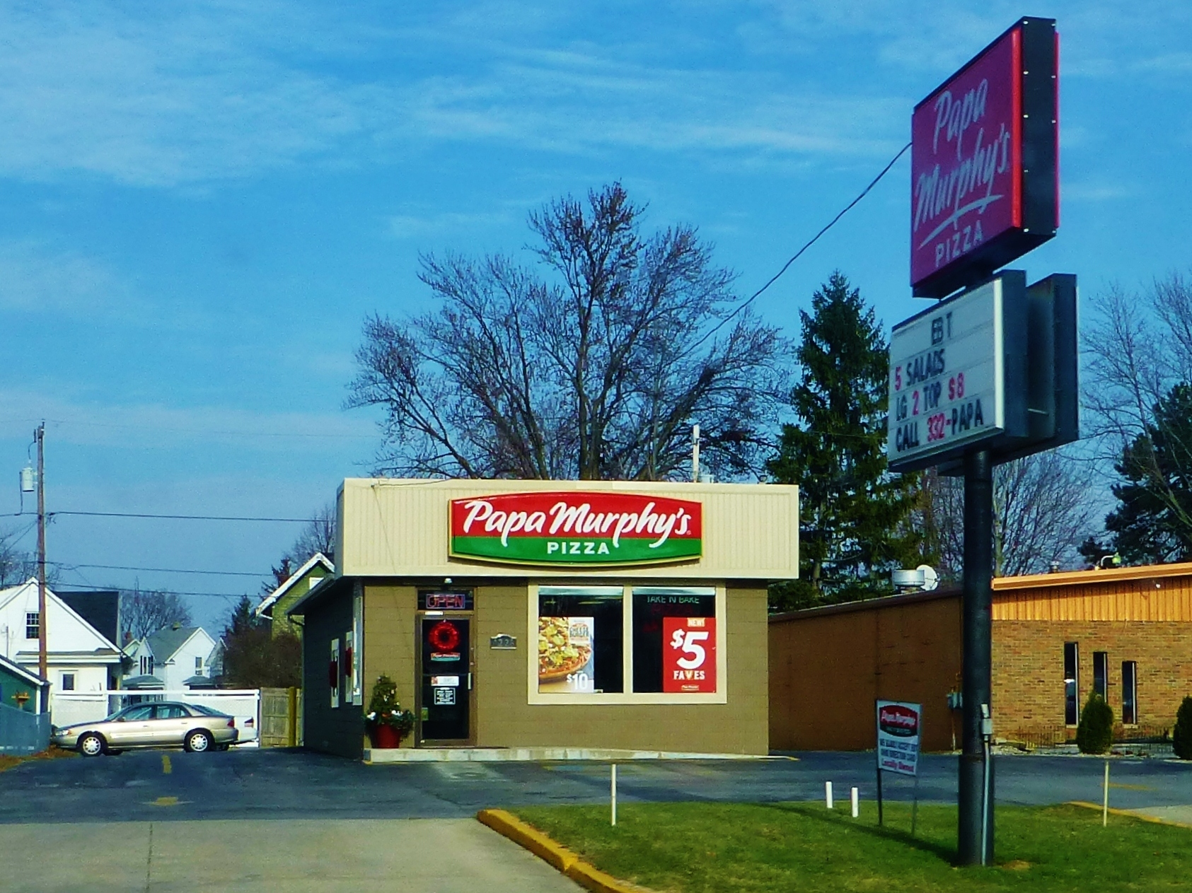 Papa Murphy's is a chain that sells take-and-bake pizza. It built its name on low prices, and a willingness to accept food stamps. But now that may be in jeopardy. Photo: Nicholas Eckhart/Flickr