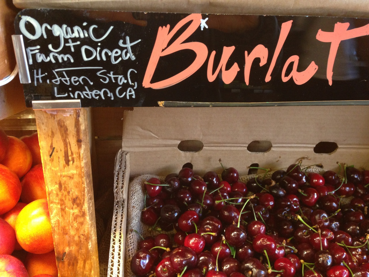 California grown Cherries: eat them now, or wait for next year. Photo: Rachael Myrow