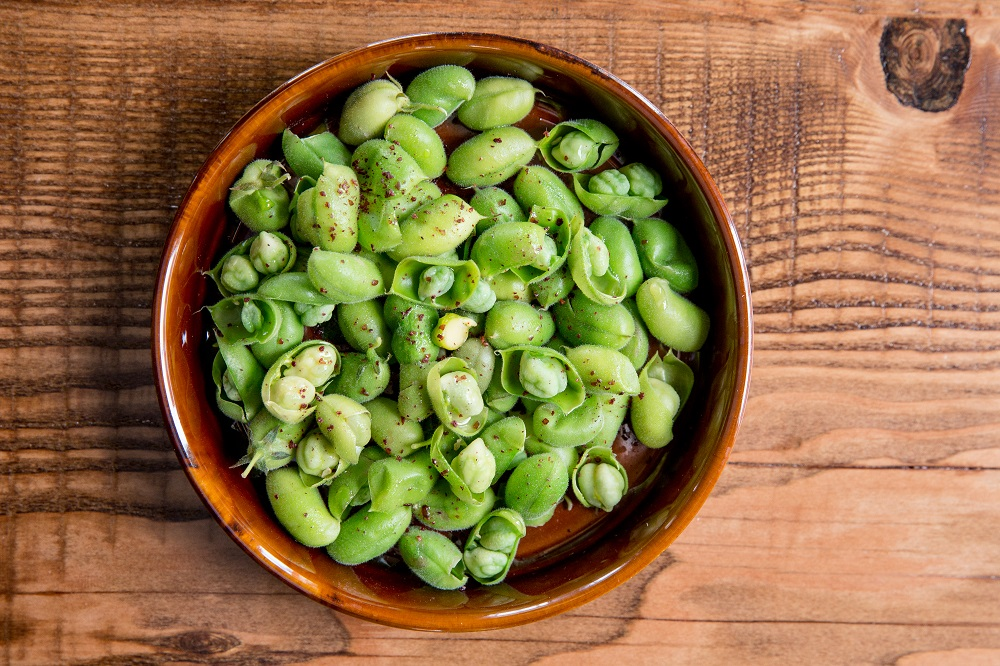 Fava beans at The Commissary. Photo: Aubrie Pick