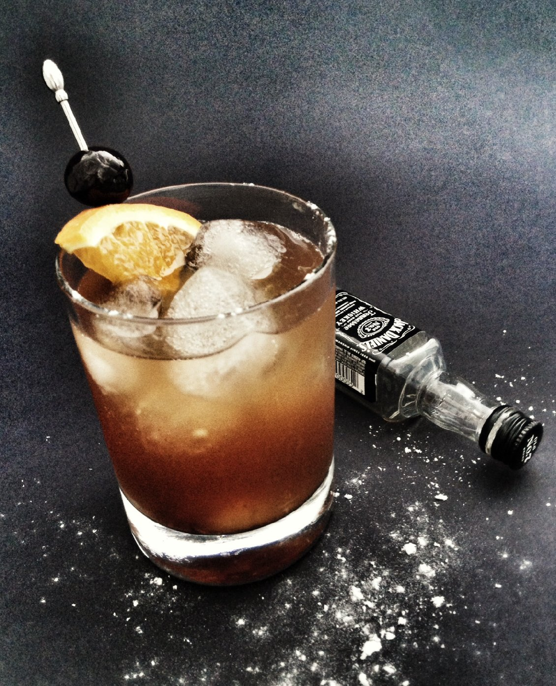 Slow-Acting Old Fashioned Cocktail. Photo: Michael Procopio