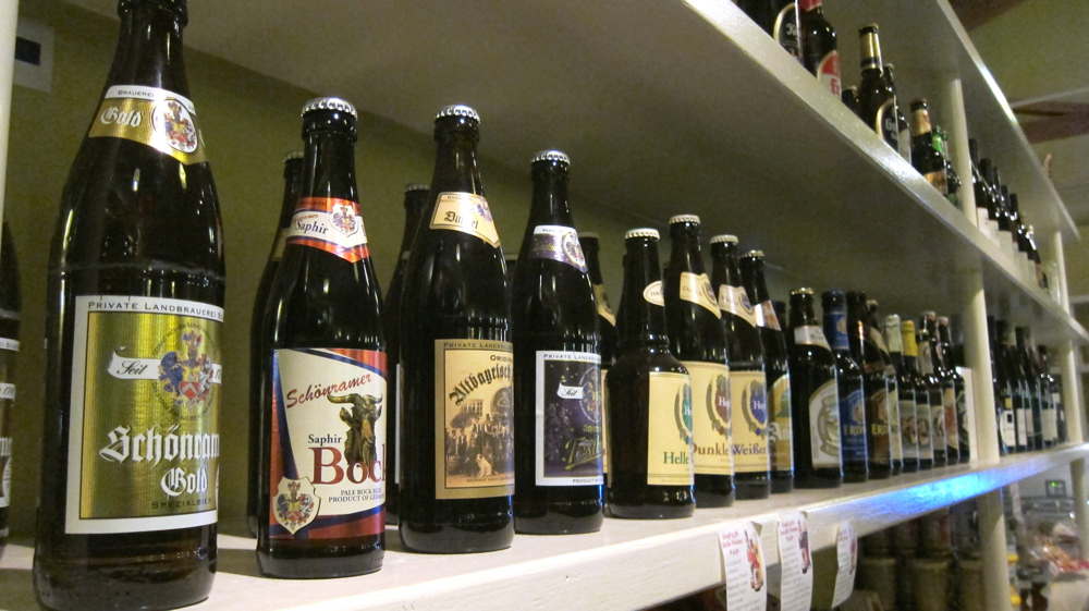 Selection of German Bottled Beers
