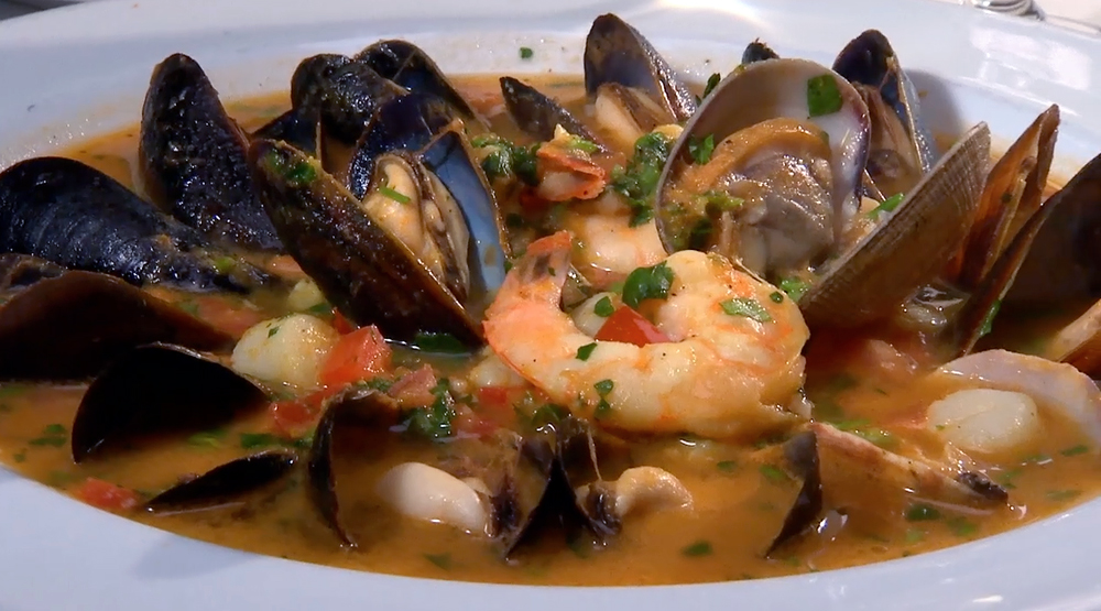 Bouillabaisse at Bistro Liaison in Berkeley