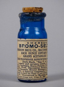 An ad for Emerson's Bromo-Seltzer. National Museum of American History Smithsonian Institution/Flickr