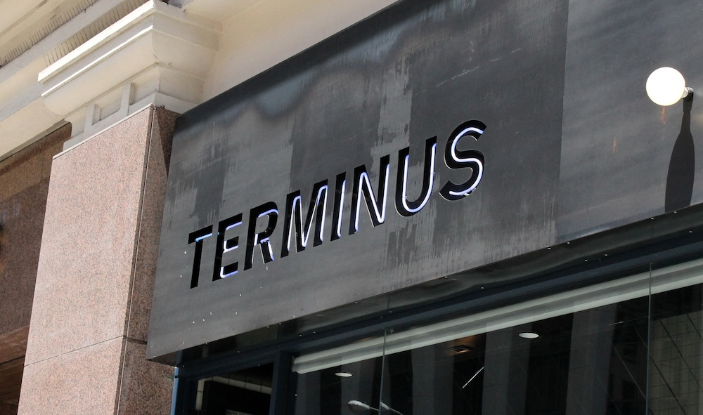 Cafe Terminus is a sandwich restaurant and bar in the Financial District. Photo: Kate Williams