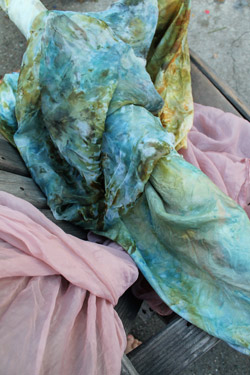 Fabric dyes. Photo: Sasha Duerr