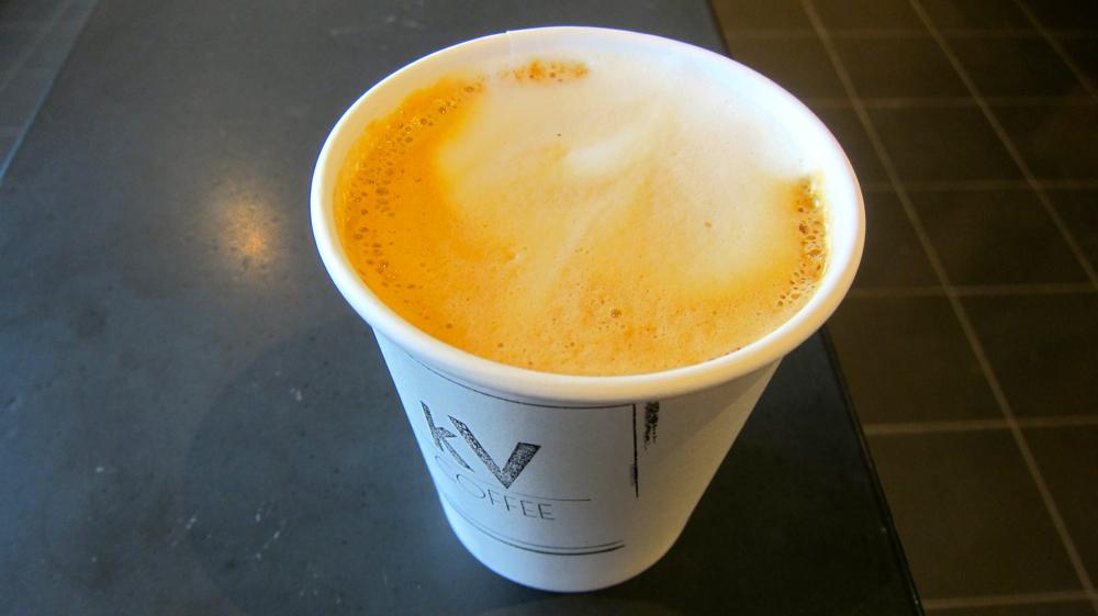 Kilovolt cappuccino