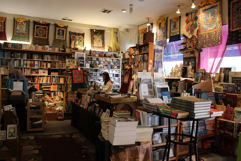 Inside Open Secret Bookstore