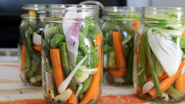 Transforming spring vegetables into pickles is a great way to preserve their flavor for the coming year. Photo: Kate Williams