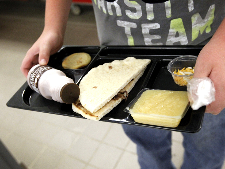 "Currently, half of all products served in the school lunch program must be ""whole-grain rich,"" which USDA defines as products made of at least 50 percent whole grain. According to the new standards, by the start of the next school year, schools must use only products that are whole-grain rich. Photo: Rogelio V. Solis/AP"