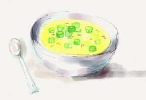 Steamed egg casserole