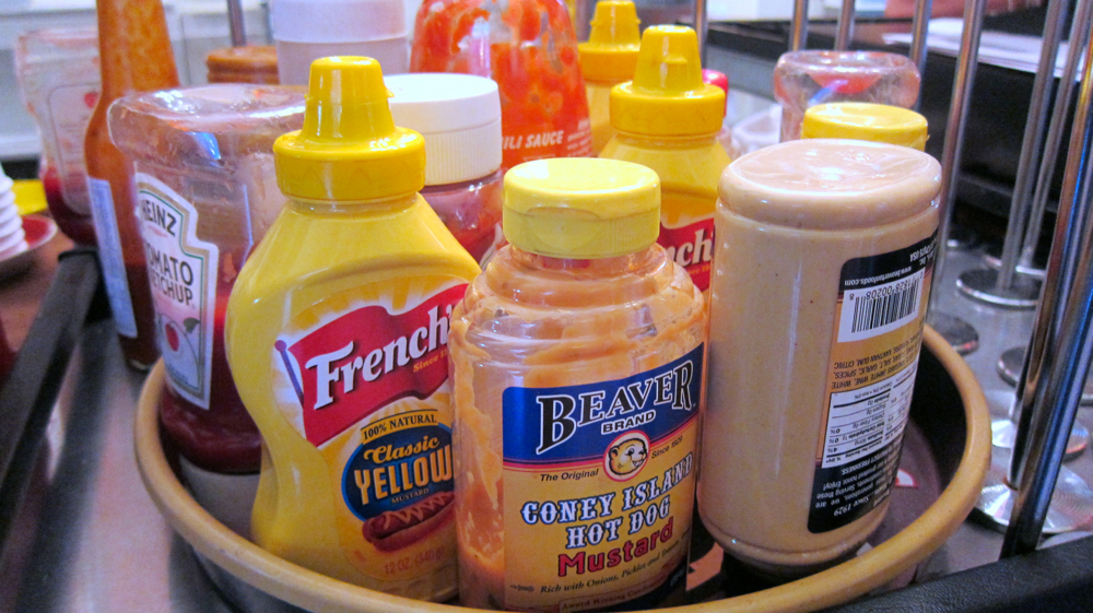 Condiments Selection