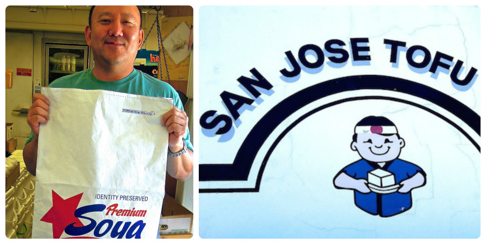Chester Nozaki, whose grandfather started San Jose Tofu Company. Photo: Anna Mindess