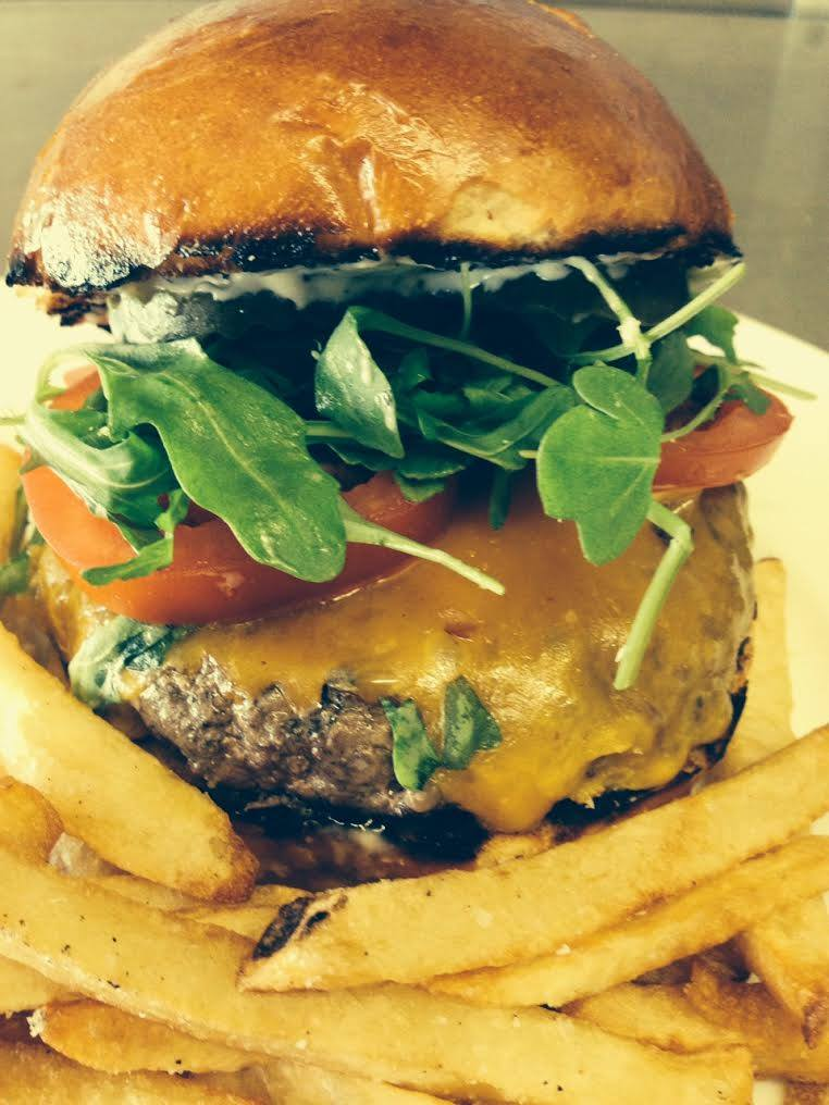 Hunky Bear Burger from Dolores Park Cafe. Photo courtesy of Dolores Park Cafe