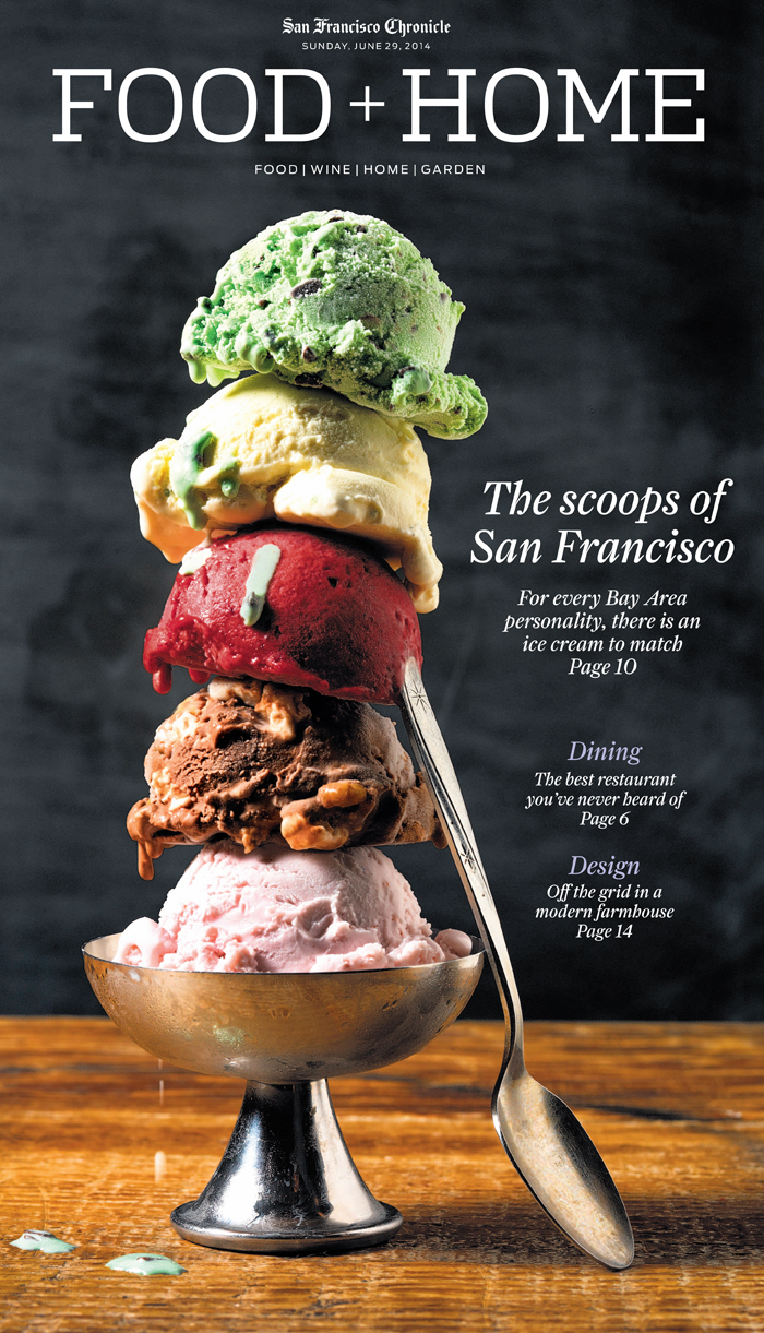 San Francisco Chronicle Food+Home Section