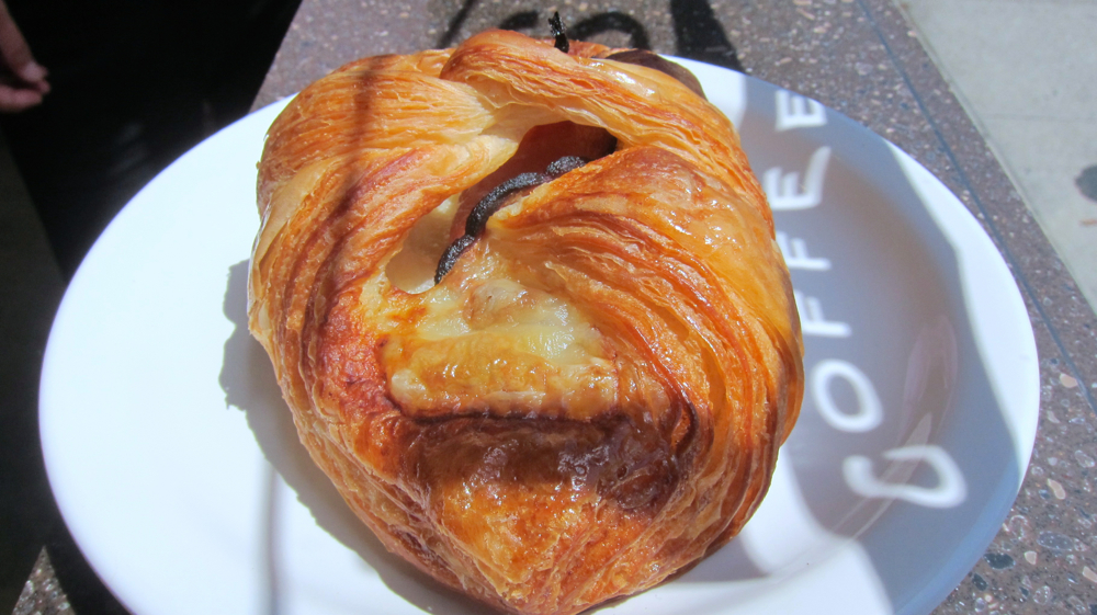 Ham & Cheese Croissant From Sandbox Bakery