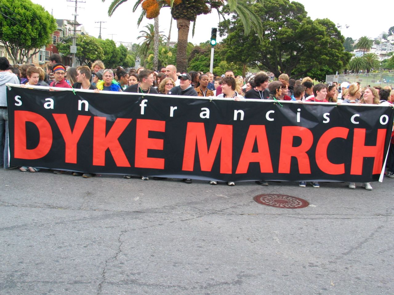 San Francisco Dyke March. Photo: Wendy Goodfriend