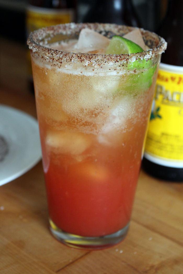 Enjoy a Spicy Michelada! Photo: Wendy Goodfriend