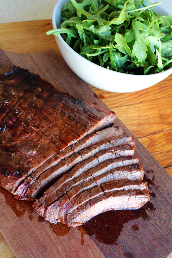 Grilled Marinated Flank Steak. Photo: Wendy Goodfriend