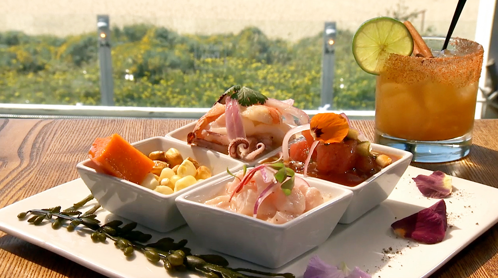 Ceviche Pescado at La Costanera Restaurant