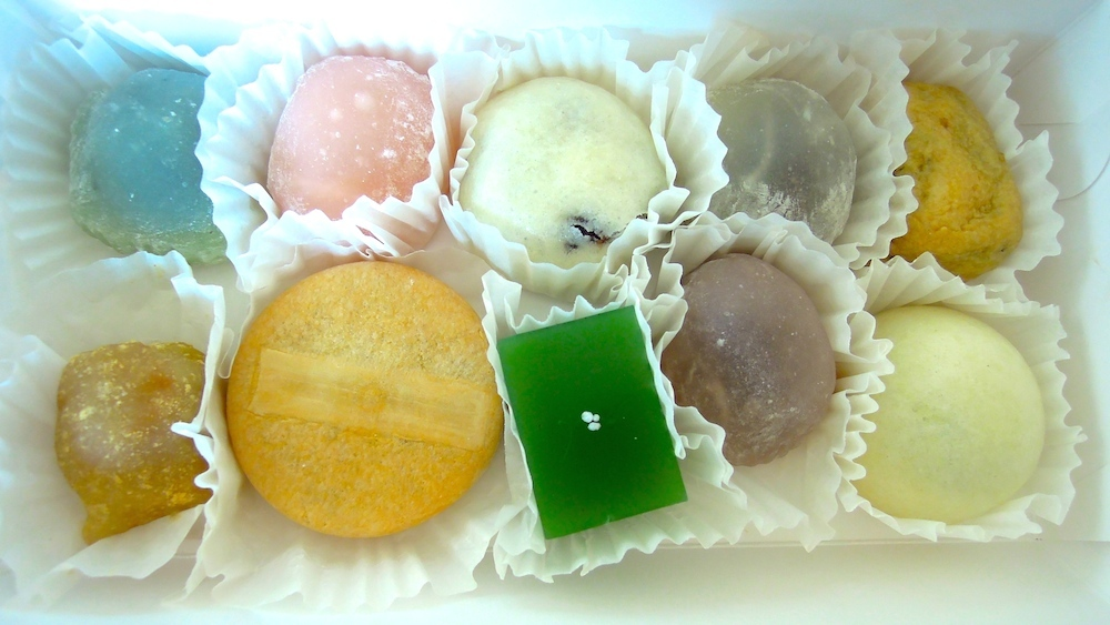 Handmade mochi and manju from Shuei-Do Manju Shop in San Jose Japantown. Photo: Anna Mindess