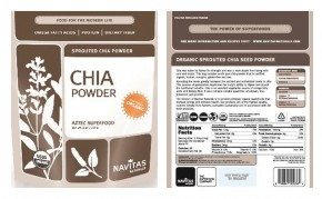 The Centers for Disease Control and Prevention on Friday issued a warning about chia powder because of possible salmonella contamination. Photo: AP
