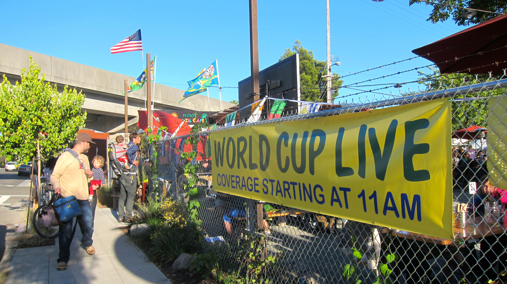 World Cup Sign