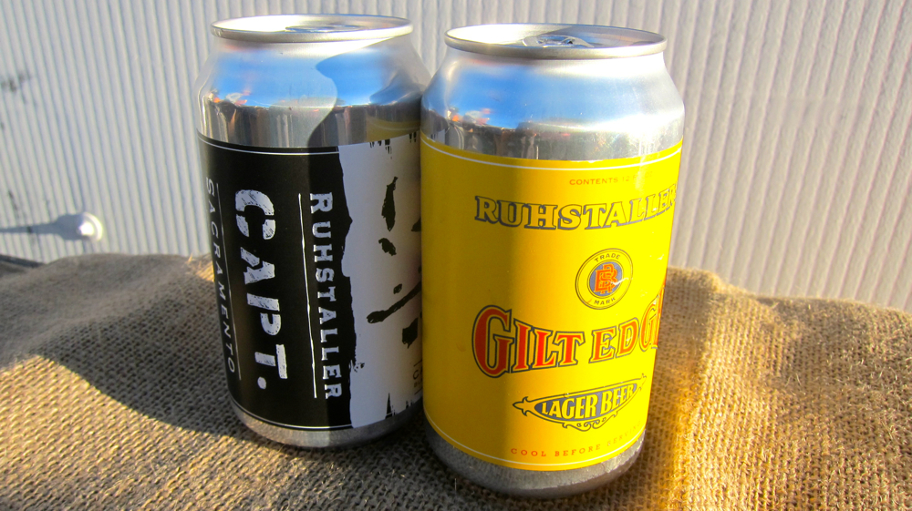 Capt. CA Black IPA & Gilt Edge CA Golden Lager