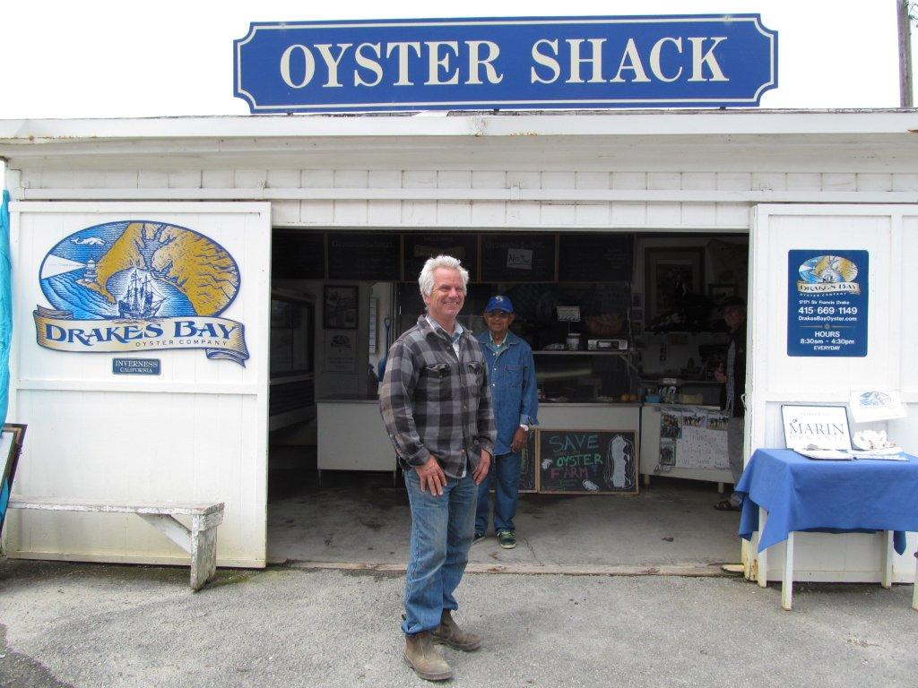 Drakes Bay Oyster Company Owner Kevin Lunny. Photo: Cyrus Musiker